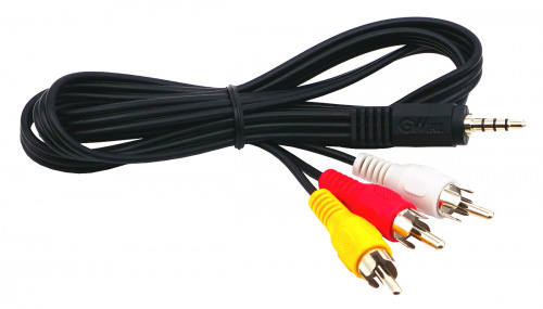 "Cable ""GWire"", 3RCA-mini Jack, 3.5mm, 1.0m"